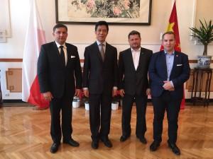 Wizyta w ambasadzie Chin