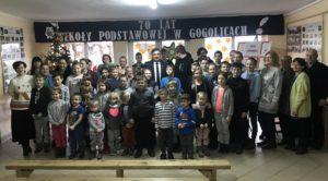 Odwiedziny w Szkole Podstawowej w Gogolicach