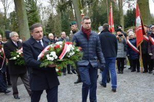 Odsłonięcie pomnika ofiar nacjonalistów ukraińskich w Szczecinie