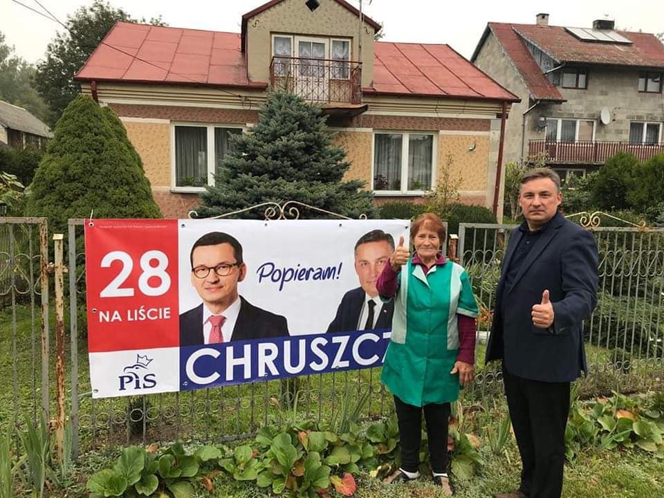 Kampania wyborcza w terenie