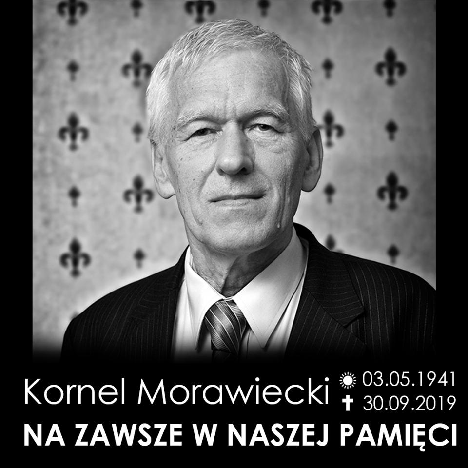 Pożegnanie Kornela Morawieckiego